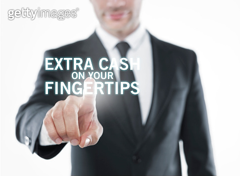 Extra cash on your fingertips