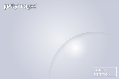 Abstract geometric white and gray color material frame layout modern tech with layer background