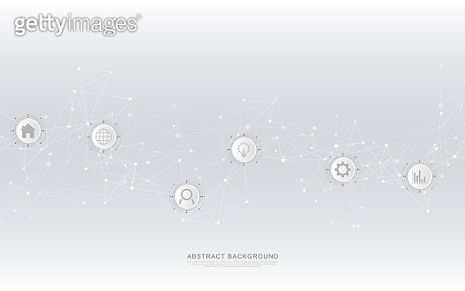 Abstract networking background
