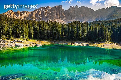 Lake Carezza - Bolzano, South Tyrol, Italy