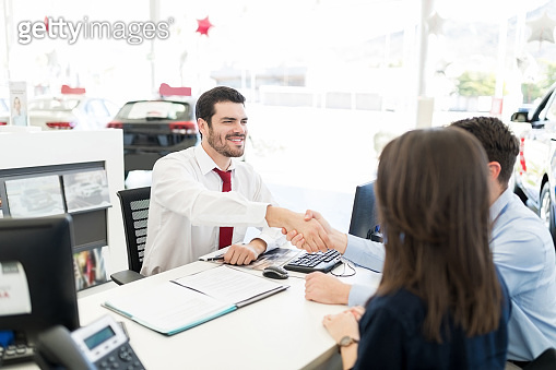 Successful In Selling Car To Customers