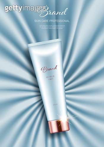 Cosmetics promotional poster