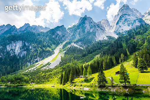 Gosausee with dachstein view - European Alps