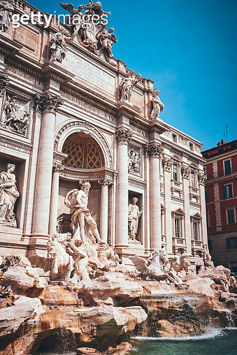 There is so much history within the Trevi Fountain