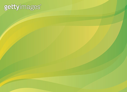 Abstract yellow-green vector background