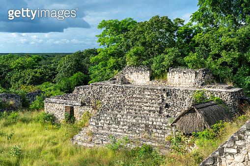 Ek Balam Mayan ruins in Yucatan, Mexico