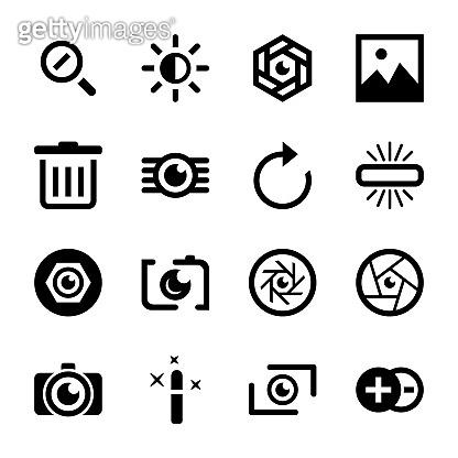 Photographic Tools Icon Set