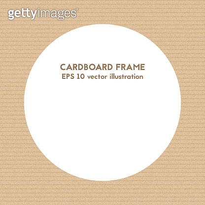 Round frame.