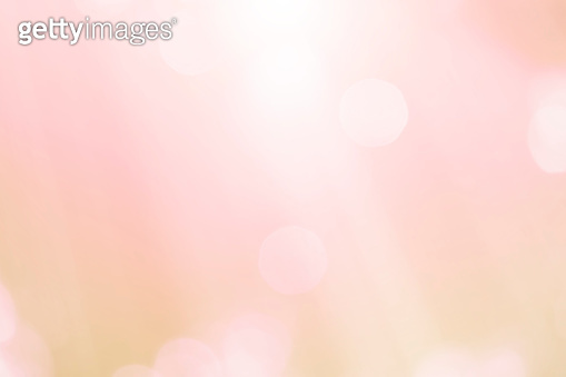Abstract blurred soft focus bokeh of bright pink color background concept.