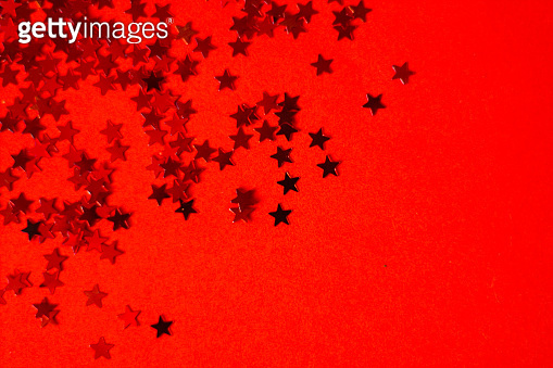 Red starts background