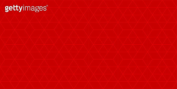 Background pattern seamless geometric abstract red color vector. Red background design.