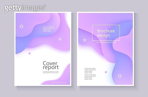 Vector abstract background wave motion flow purple