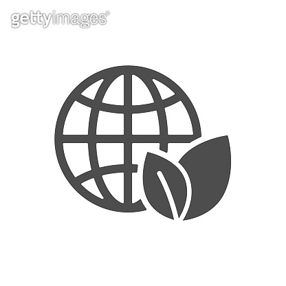 earth globe with recycling arrow
