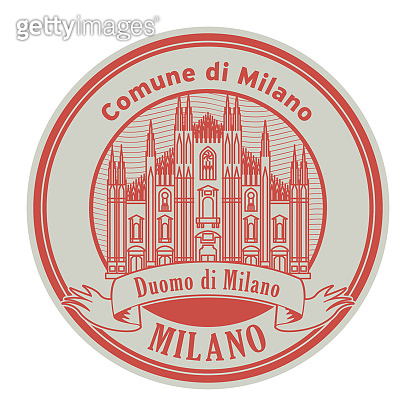 Milan Cathedral stamp