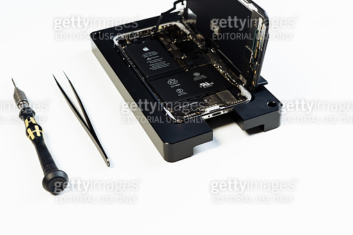Disassembled Open Mobile Phone Maintenance Tool