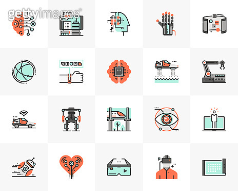 Future Technology Futuro Next Icons Pack
