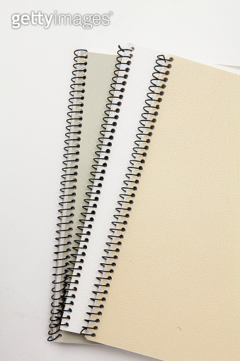 Spiral binder Note pad with white