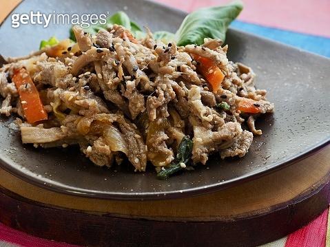 Korean food Pork bulgogi, Korean traditional food