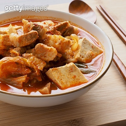 Korean Food Braised Spicy Chicken