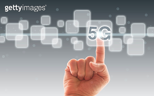 5G wifi technology digital concept