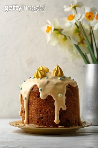 Easter russian cake closeup