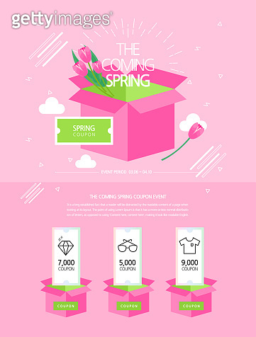 spring event page