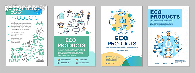 Eco products brochure