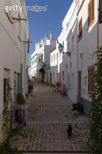 Town of Albufeira in Algarve (Portugal)