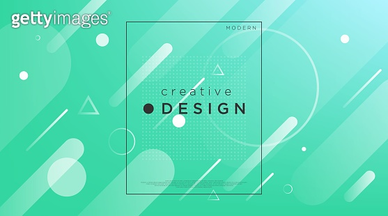Abstract Background, Gradient Pattern and Modern Style