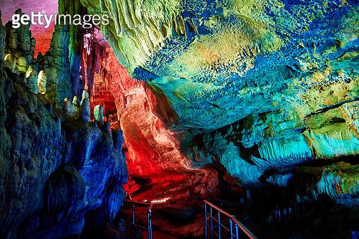Sataplia underground cave in Georgia