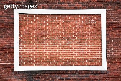 Framed Brick Wall