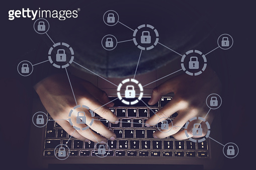 Hacker cyber computer crime attack network security password protection internet technology