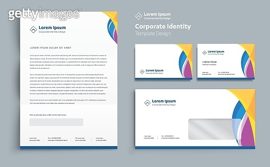 Corporate Business  Identity template design Vector abstract stationery , Gift Items Color promotional souvenirs elements. link digital technology set,