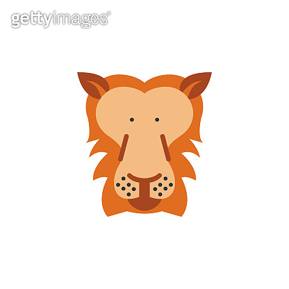 lion, animal, wildlife icon. Element of color African safari icon. Premium quality graphic design icon. Signs and symbols collection icon for websites, web design