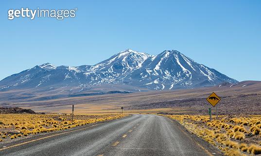 View of the Desert of Atacama, Chile