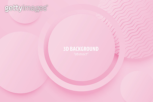 Paper cut abstract 3d web trendy background