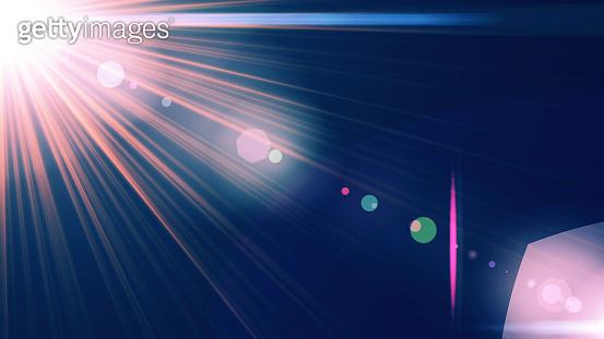 Abstract Lens Background