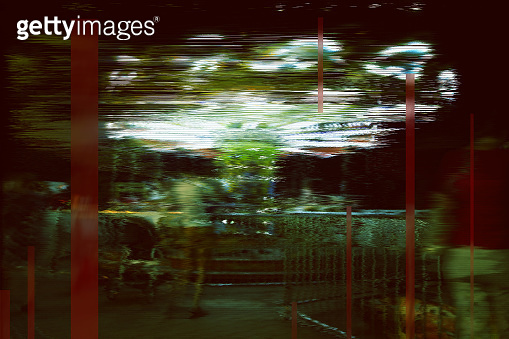 digital design backdrop glitch error