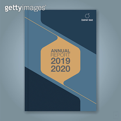 minimal geometric background for business annual report book cover brochure flyer poster stock illustration