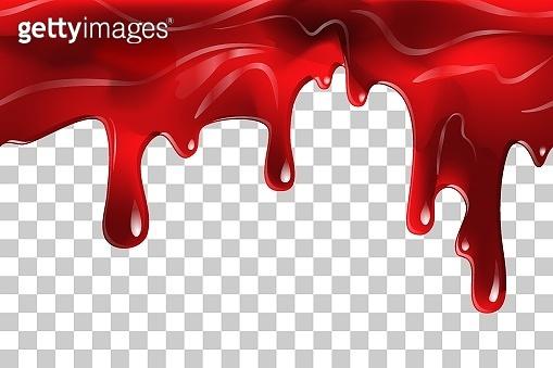 blood liquid ketchup Seamless vector