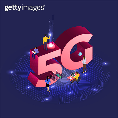 Concept 5G network technology