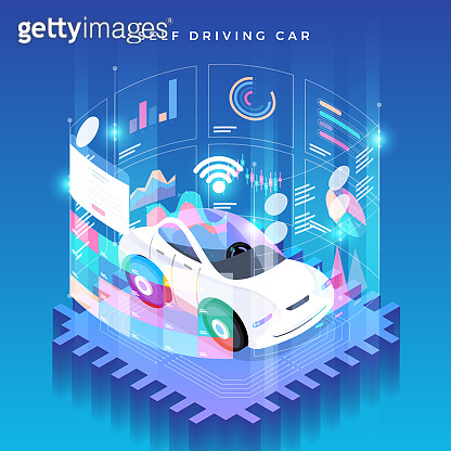 Autonomous Car self driving technology