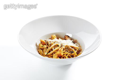 Frutti di Mare Spaghetti or Traditional Italian Seafood Pasta