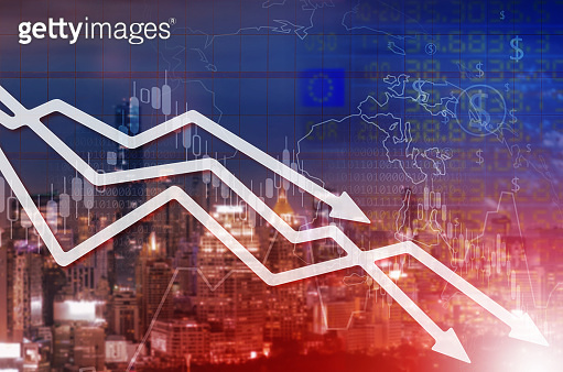 Chart businesses falling