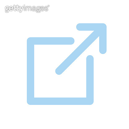 External Link Icon with box and arrow - UI or UX icon
