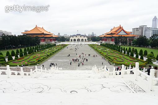 The National Concert Hall Tapiei, Taiwan. The National Concert Hall near by Chiang Kai-shek Memorial Hall