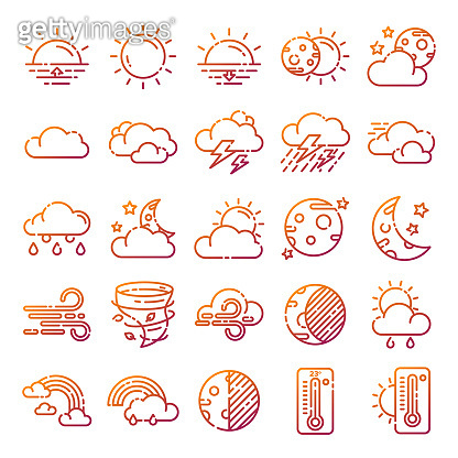 Weather icons pack