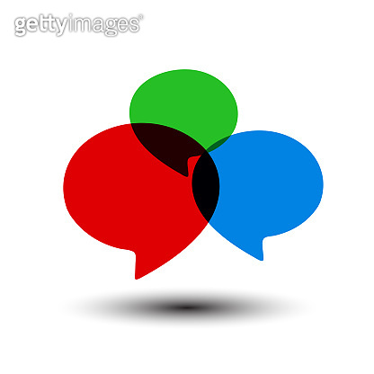 Chat icon sign - for stock