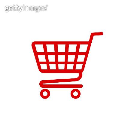 Shop cart icon, buy symbol. Shopping basket icon sign – vector