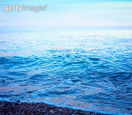 Morning at the sea